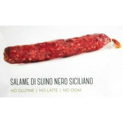 Salame di suino nero siciliano