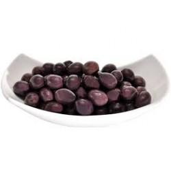 Olive nere condite in olio EVO (vaschetta da 400gr circa)