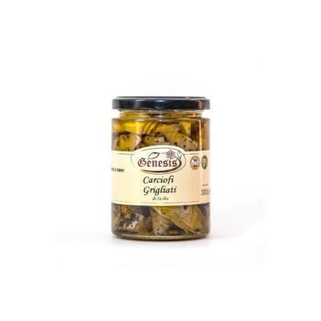 Carciofi grigliati in olio extravergine di oliva -